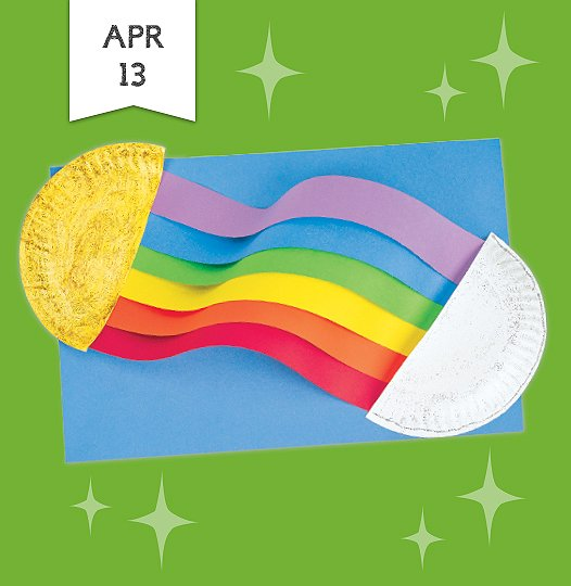 df6773e7619b Join us Saturday April thirteenth to make a colorful craft that inspires  children to look for