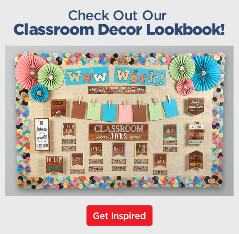 Decor & More | All the Latest Classroom Styles & Trends