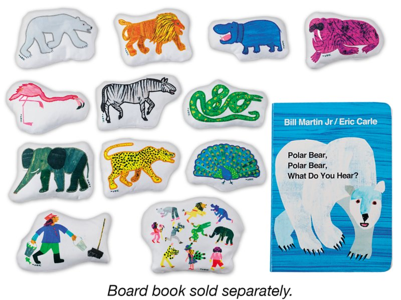 Polar Bear, Polar Bear, What Do You Hear? Storytelling Kit at ...
