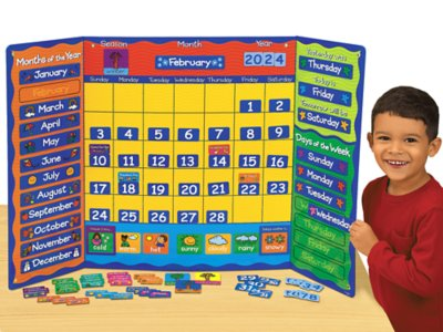 Magnetic Calendar Activity Center At Lakeshore Learning
