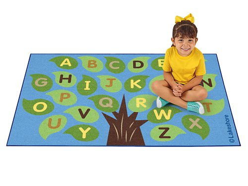 Alphabet Nature Carpet At Lakeshore Learning