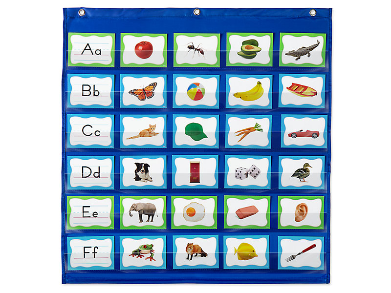 Alphabet Pocket Chart Activity Cards At Lakeshore Learning