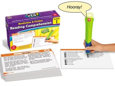 Reading Comprehension Quiz Cards