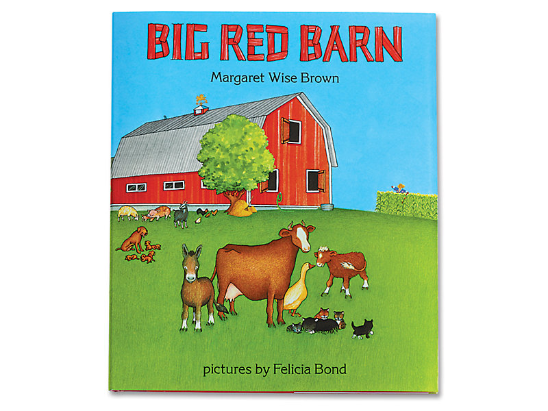Big Red Barn Hardcover Book At Lakeshore Learning