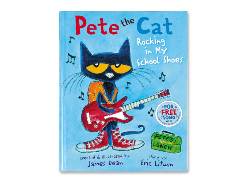 Pete The Cat Rocking In My School Shoes Hardcover Book At Lakeshore Learning