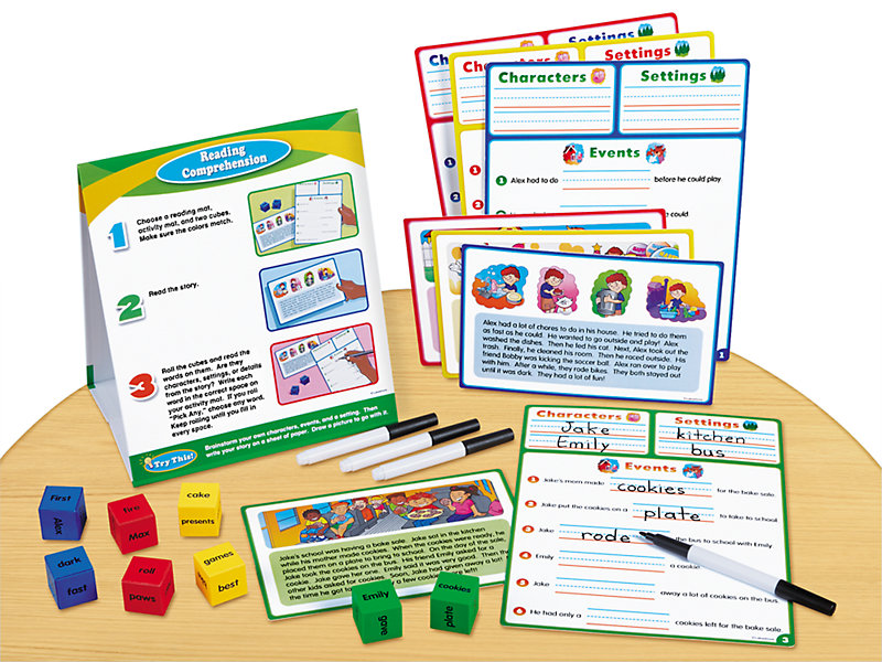 Reading Comprehension Instant Learning Center