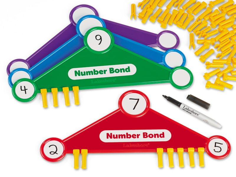 Snap slide number bonds set of 4 at lakeshore learning ibookread PDF