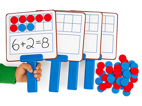 Ten Frames Magnetic Answer Boards At Lakeshore Learning
