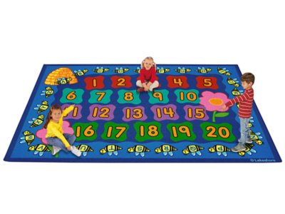 Numbers Amp Letters Activity Carpets At Lakeshore Learning