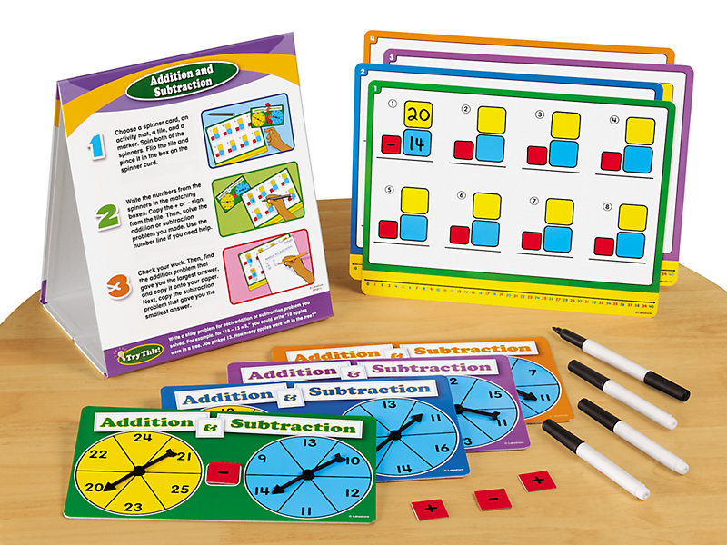Addition & Subtraction Instant Learning Center