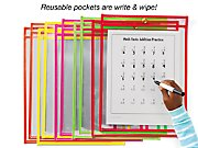 Reusable Write & Wipe Pocket