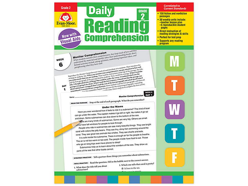 Daily Reading Prehension Activities Gr 2 At