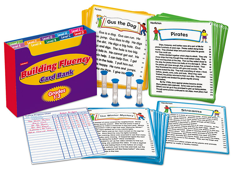 Building Fluency Card Bank - Gr  1-3