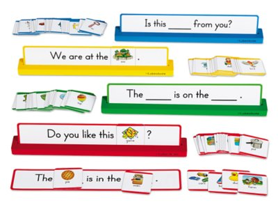 picture regarding Sentence Strips Printable named Establishing Sight-Term Sentences Heart