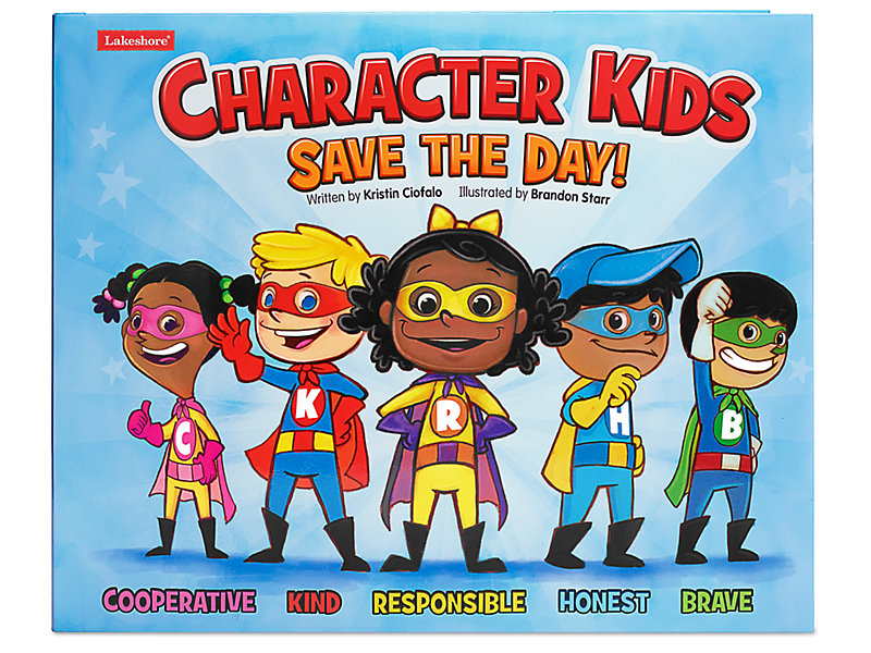 Character Kids Save the Day! Hardcover Book