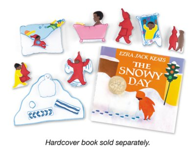 photograph about The Snowy Day Printable identify The Snowy Working day Storytelling Package