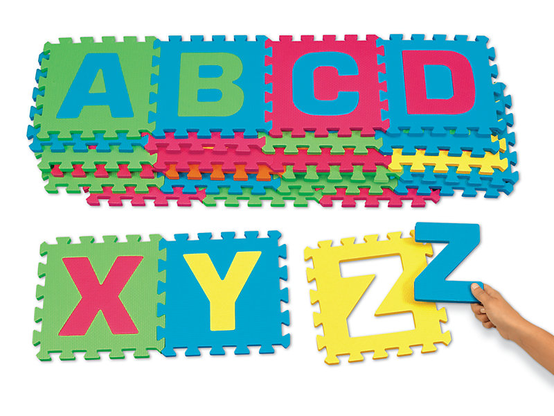 Heavy Duty Alphabet Puzzle Mats At Lakeshore Learning