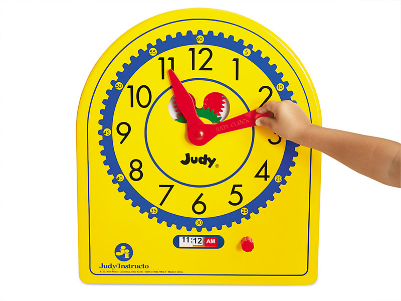 Teaching Gear Clock at Lakeshore Learning