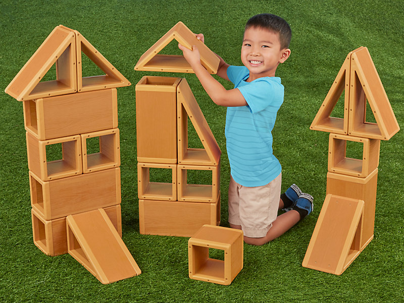 Giant Outdoor Building Blocks
