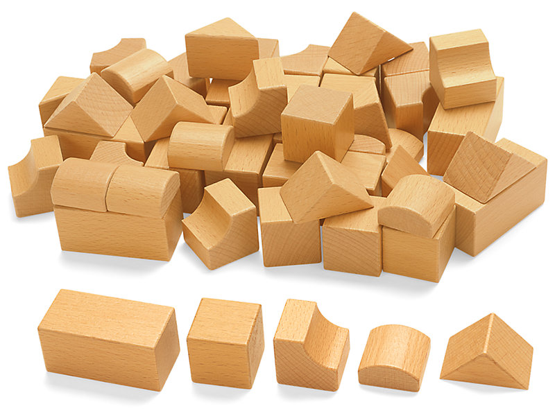Extra Wooden Blocks at Lakeshore Learning