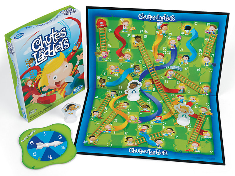 Chutes And Ladders Game At Lakeshore Learning