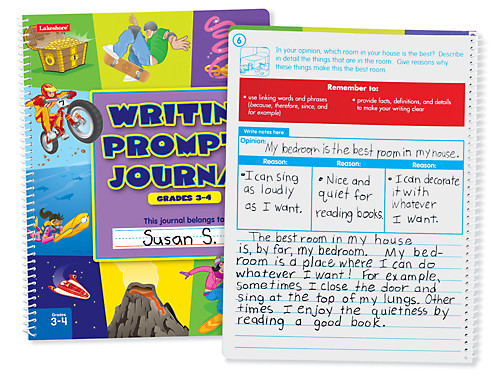 Writing Prompts Journal - Gr  3-4
