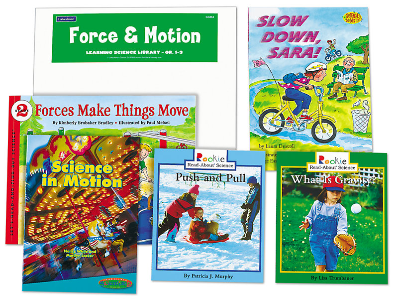Force & Motion Book Library - Gr  1-3