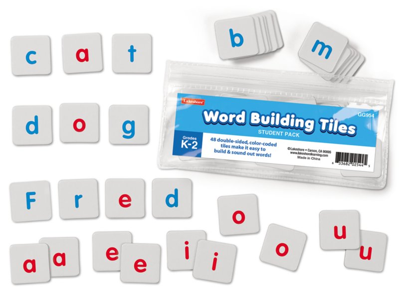 Word Building Tiles