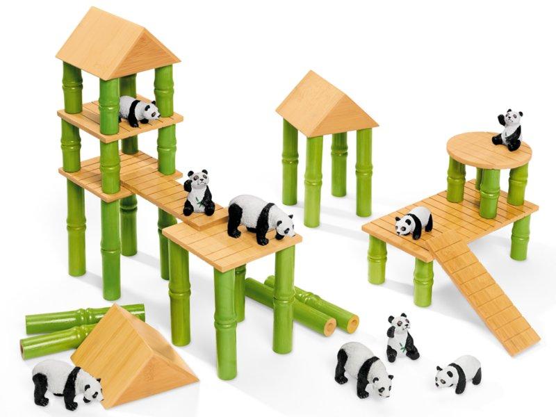 Panda Village Block Set At Lakeshore Learning