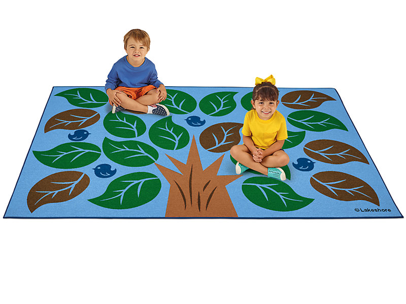 Colors Of Nature 174 Classroom Carpet For 20 Kids 6 X 9