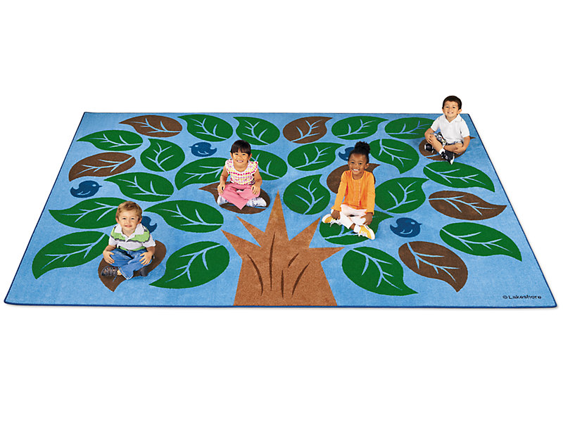 Colors Of Nature 174 Classroom Carpet For 30 Kids 9 X 12