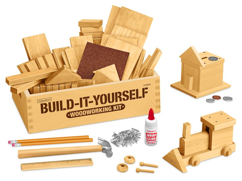 Build It Yourself Woodworking Kit At Lakeshore Learning