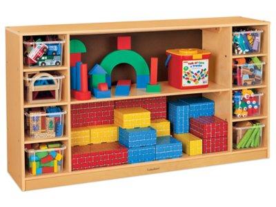 Superbe Classic Birch Cubbies U0026 Shelves Medium Storage Unit At Lakeshore Learning