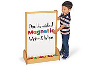 Stand-Up Magnetic Write& Wipe Center
