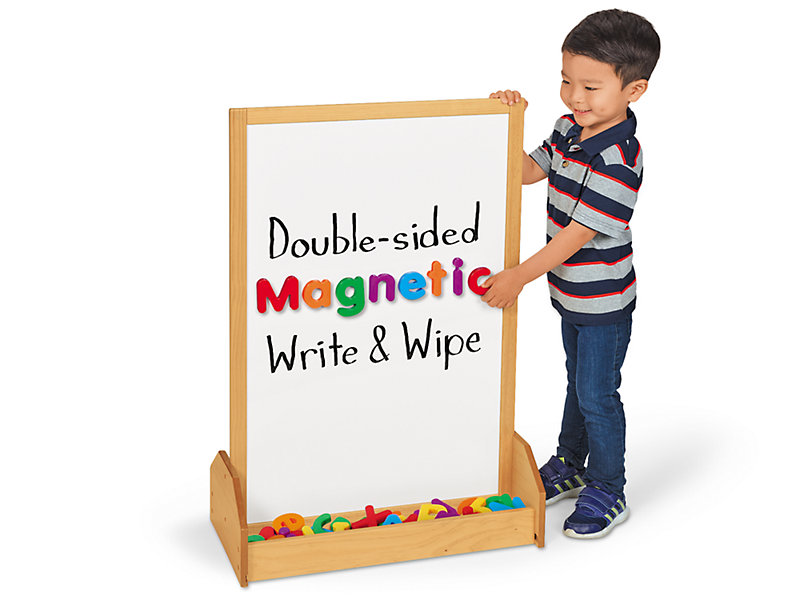 Stand Up Magnetic Write Amp Wipe Center At Lakeshore Learning
