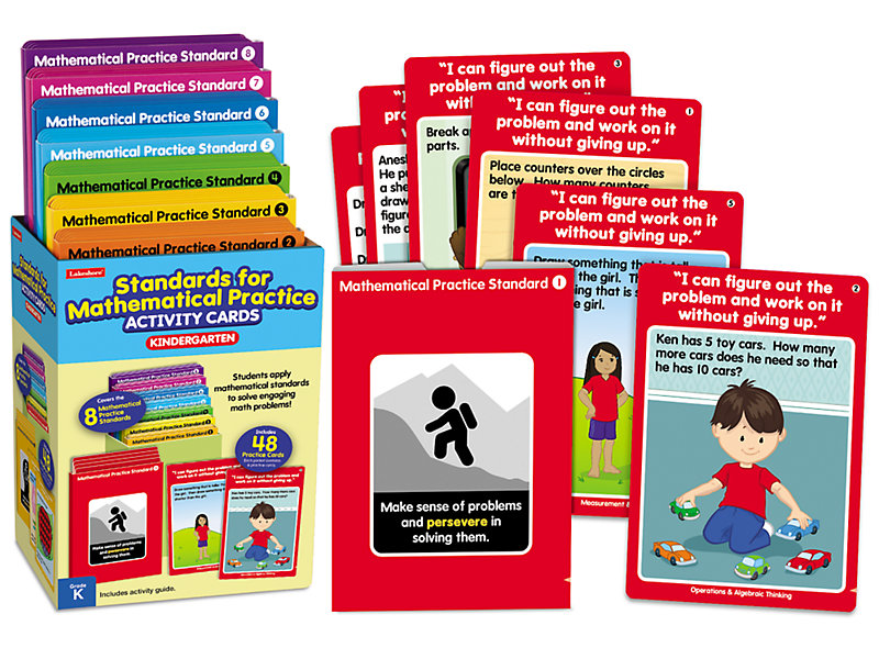 Standards for Mathematical Practice Activity Cards - Kindergarten at ...