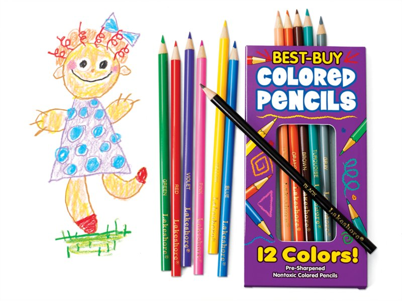 Best-Buy Colored Pencils Pack