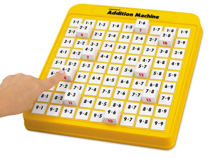 Addition Machine At Lakeshore Learning