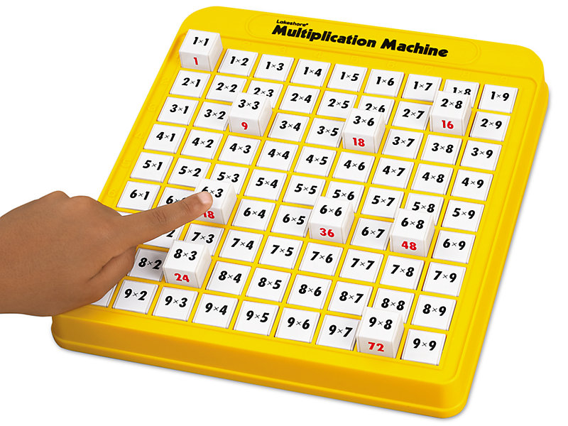 Multiplication Machine At Lakeshore Learning