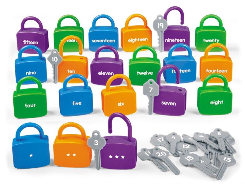 unlock number lock bag
