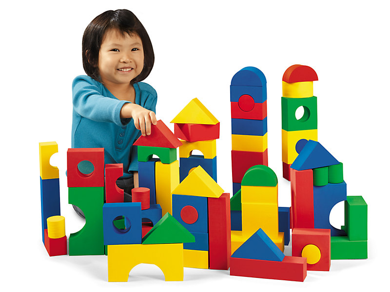 Soft & Quiet Building Blocks