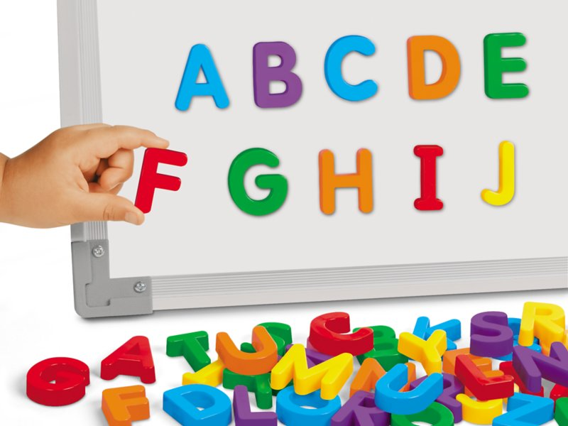 Magnetic Letters Uppercase At Lakeshore Learning