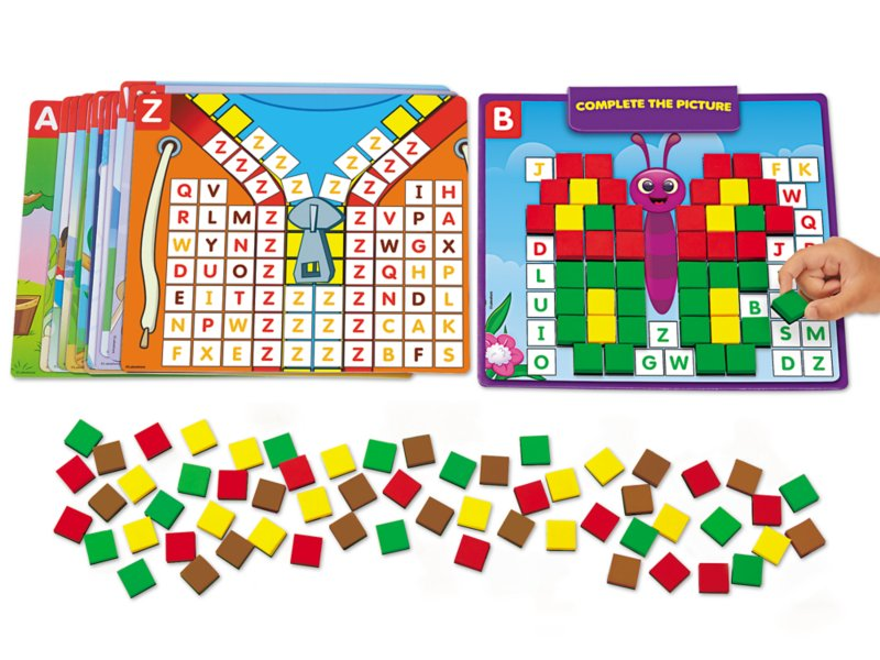 Complete The Picture Magnetic Letter Match At Lakeshore Learning