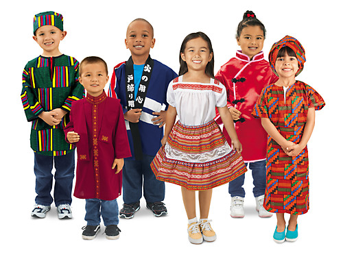 Lakeshore Multicultural Clothing Set At Lakeshore Learning