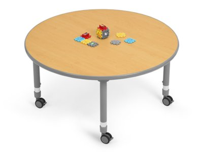 Flex Space Mobile Round Tables