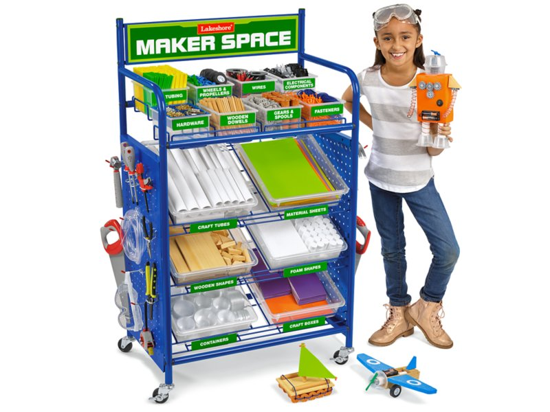 Image result for maker education cart lakeshore