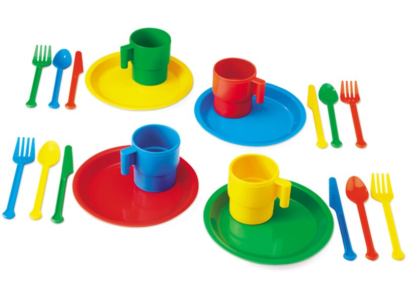 Indestructible Play Dishes 4 Service
