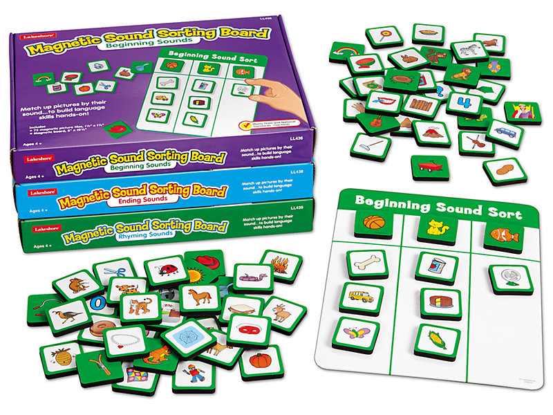 Magnetic Sound Sorting Boards - Complete Set
