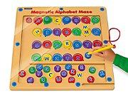 Magnetic Alphabet Maze