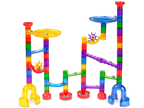 Clear View Marble Run At Lakeshore Learning